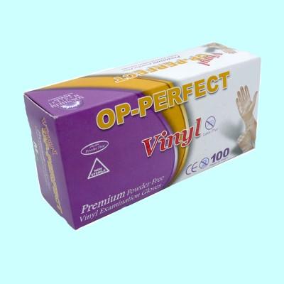 دستکش ونیل مدیوم (op-perfct)