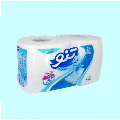 دستمال کاغذی دلسی 2 قلو  (تنو)