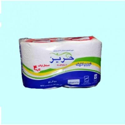 دستمال کاغذی دلسی 2 قلو(حریر)